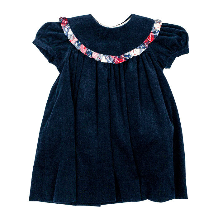 Bailey Boys Navy Corduroy Float Dress