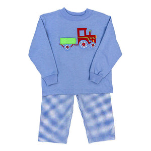 Bailey Boys Tractor Pant Set