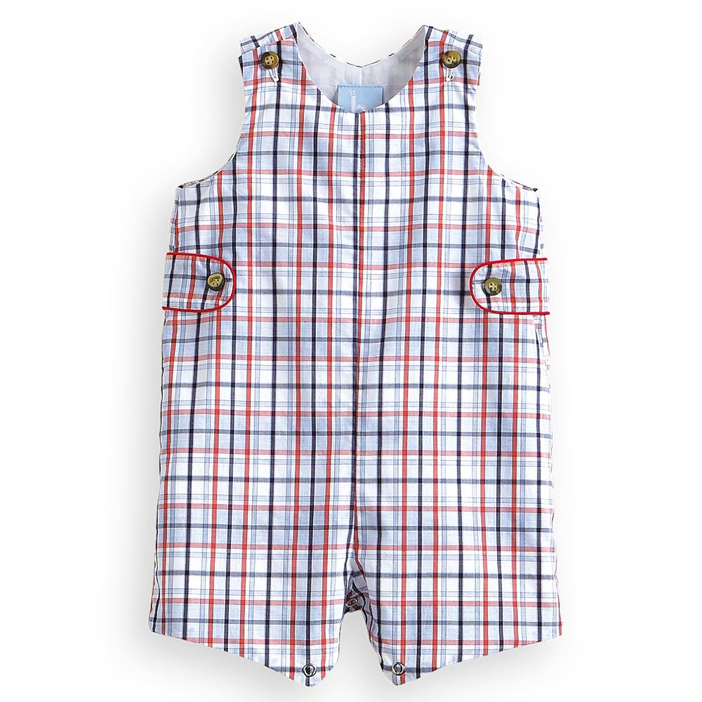 Bella Bliss Spring Shortall - Bayview Check