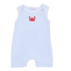 Magnolia Baby Classic Crab Sleeveless Playsuit