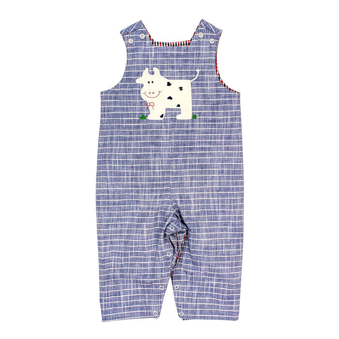 Bailey Boys Cow Reversible John John