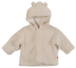 Magnetic Me Cream Fleece Hooded Jacket