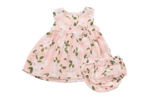 Angel Dear Kimono Dress and Diaper Cover