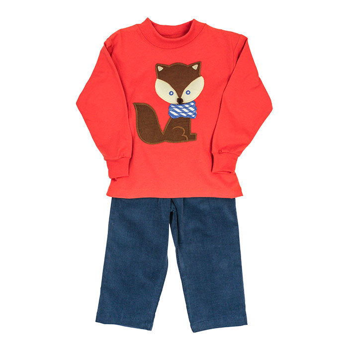 Bailey Boys Fox Boys Pant Set