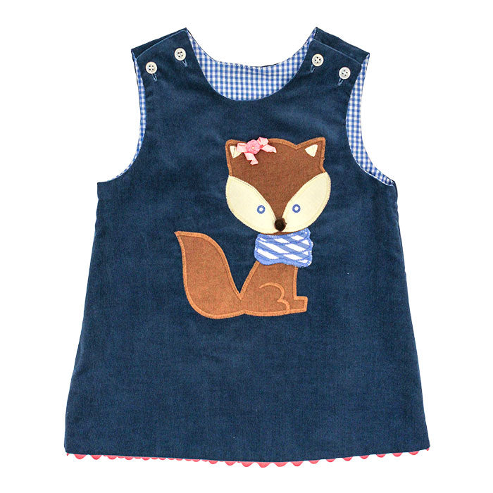Bailey Boys Fox Reversible Jumper with Rick Rack
