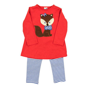 Bailey Boys Fox Tunic Pant Set