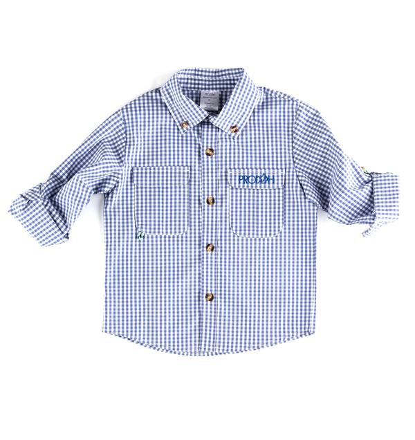 Prodoh Gingham Button Down Shirt