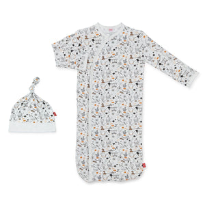 Magnetic Me Cirque Bebe Sack Gown & Hat