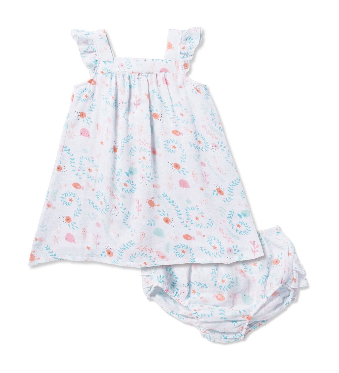 Angel Dear Jellyfish Sundress and Bloomers
