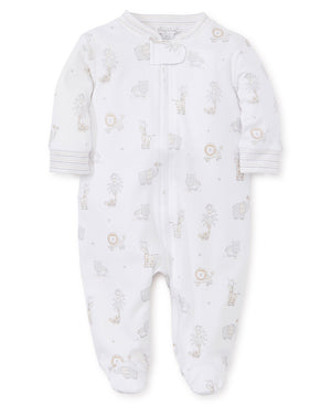 Kissy Kissy Footie with Zipper - Jungle Party