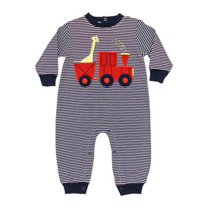 Bailey Boys Knit Romper