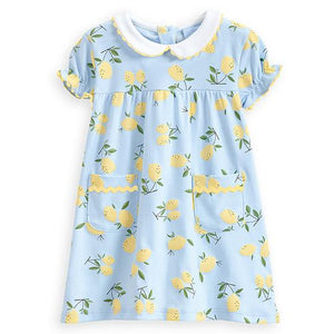 Bella Bliss Lil Lemons Pima Dress
