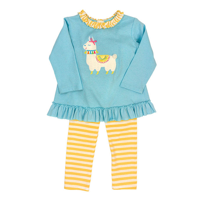 Bailey Boys Llama Tunic Pant Set