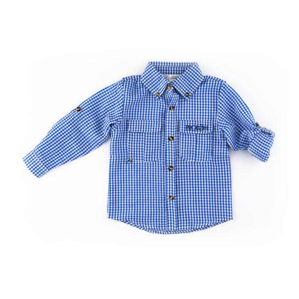 Prodoh Mini Gingham Getaway Shirt