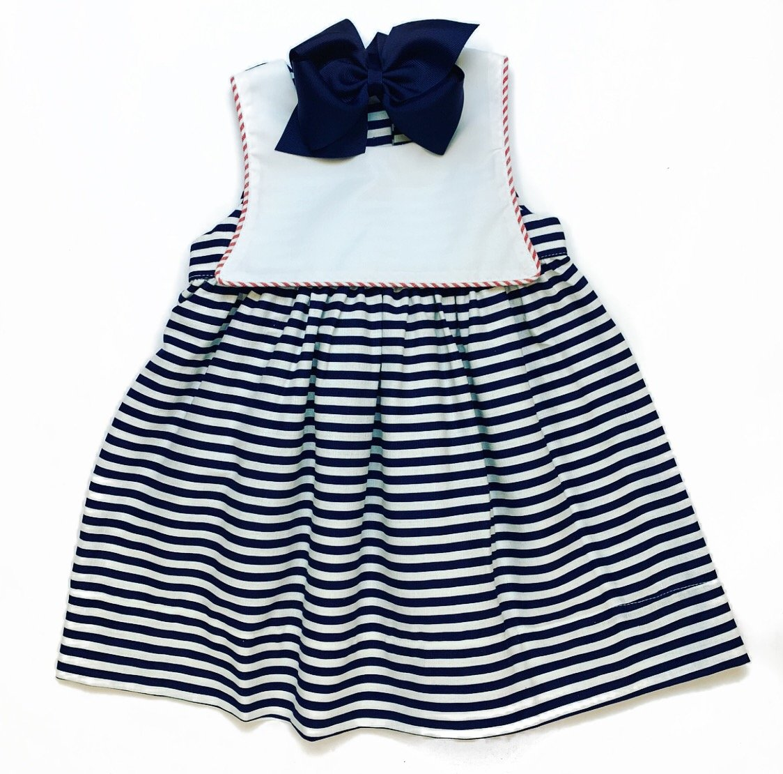 Sweet Dreams Old Time Navy Stripe Dress