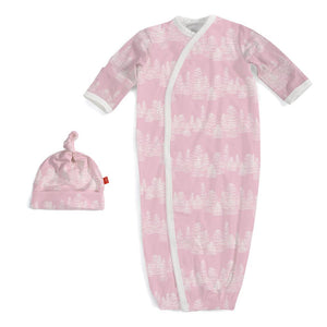 Magnetic Me Pink Aspen Sack Gown Set