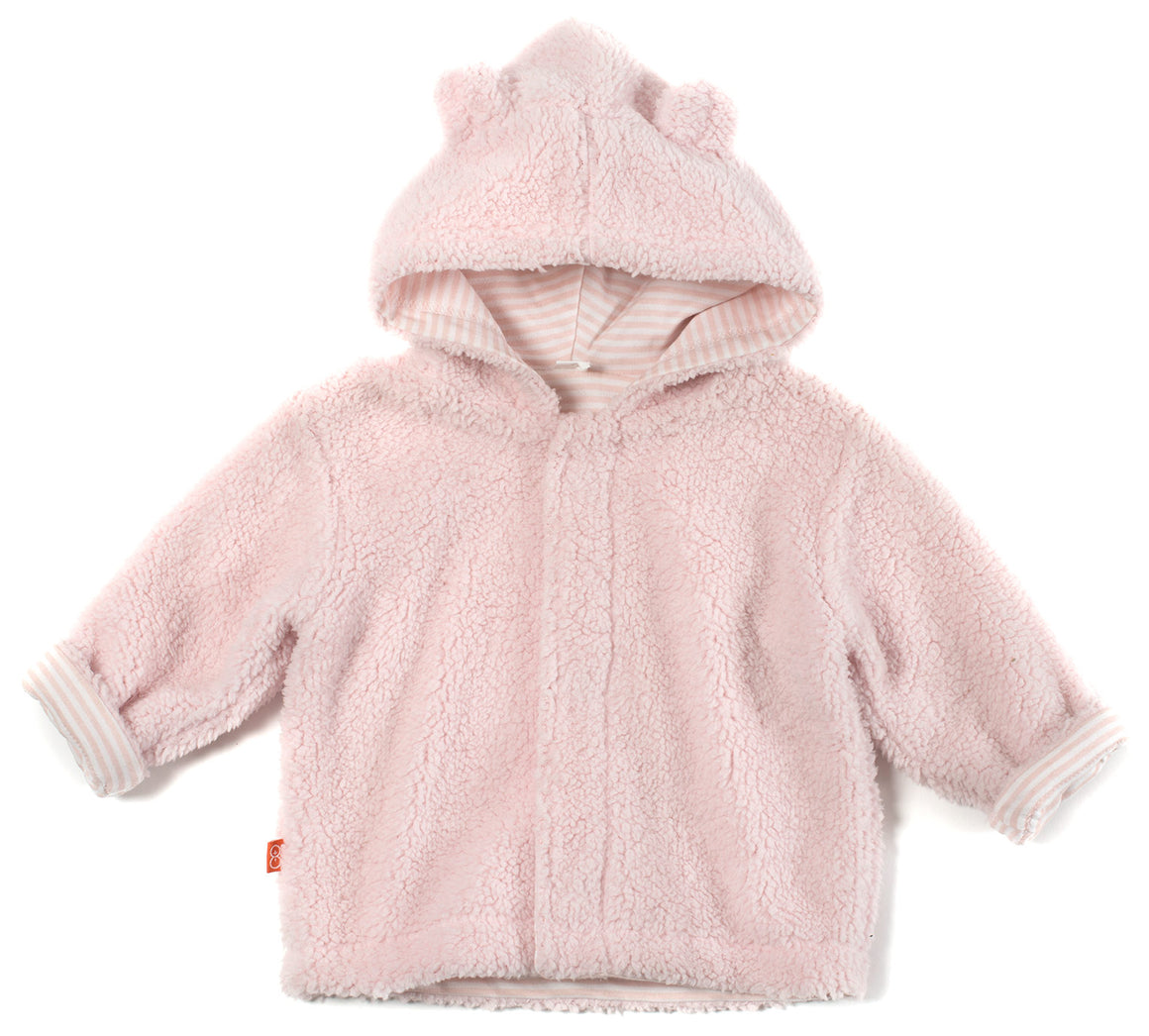 Magnetic Me Pink Fleece Hooded Jacket