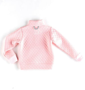 Prodoh Girl's Quilted Pullover