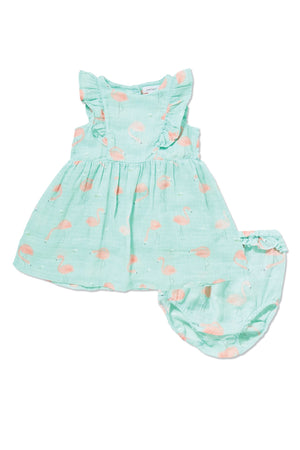 Angel Dear Ruffle Dress and Diaper Cover