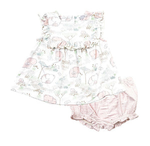 Angel Dear Ruffle Top and Bloomer