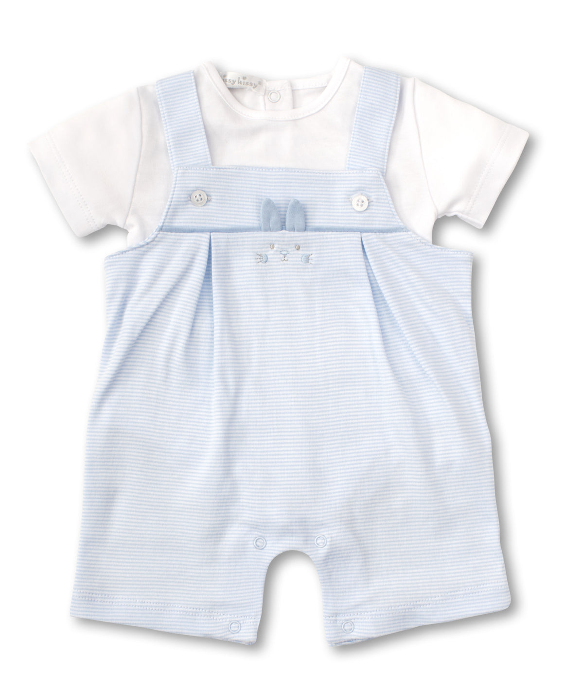 Kissy Kissy Short Overall Set