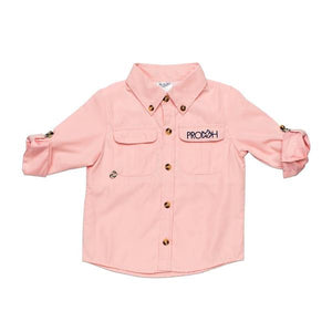 Prodoh Solid Button-Down Shirt