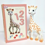 Sophie The Giraffe and 1,2,3 Book Set
