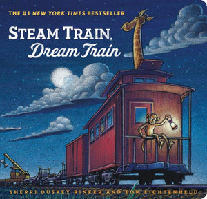 Steam Train, Dream Train Book