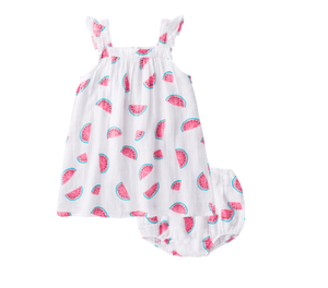 Angel Dear Watermelon Sundress and Bloomers