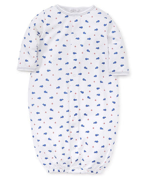 Kissy Kissy Whales Converter Gown