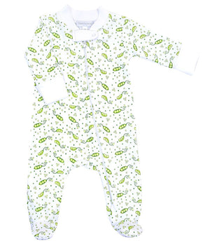 Magnolia Baby Zipped Footie