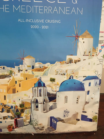 image of Greece tourist magazine for cruises