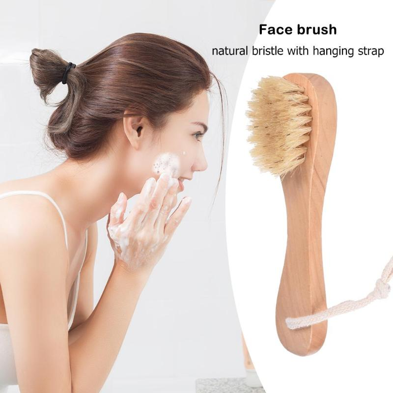 4pcs/set Wooden Bath Shower Bristle Brush