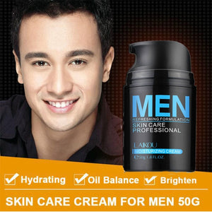 Natural Men's Skin Care Lotion