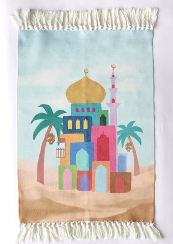 Children's Prayer Mat | Multicolour