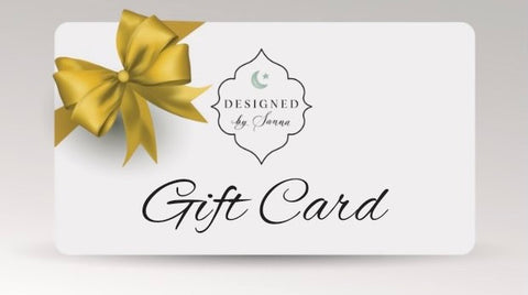 Designed By Sanna Gift Card