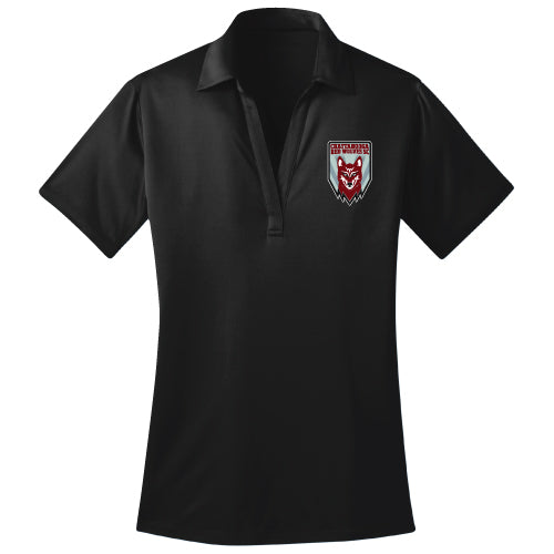 Red Wolves SC Women's Black Polo Shirt