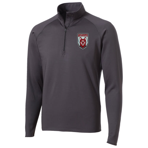 Red Wolves SC Men's Charcoal Peak Performance 1/4 Zip