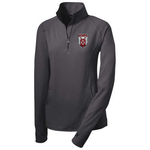 1/4 Zip Pullover / Performance / Women's