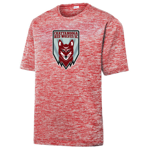 Red Wolves SC Crest Red Heather Performance Shirt
