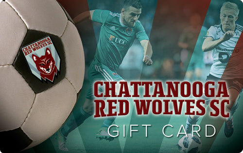 Chattanooga Red Wolves SC Gift Card