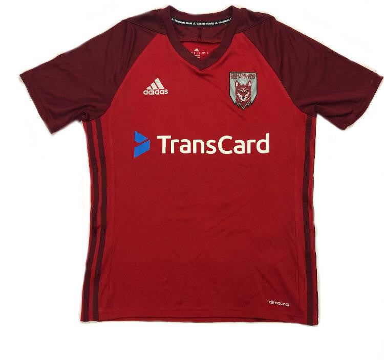 Men's Adidas Red Home Game Jersey