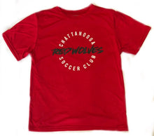 Load image into Gallery viewer, Chatt Red Wolves SC Performance T-shirt