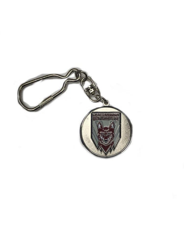 Red Wolves SC Crest Key Chain
