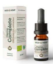 Load image into Gallery viewer, MediHemp Organic Hemp Complete 10%