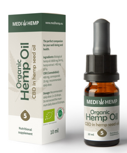 MediHemp Organic Hemp Oil 5% 10ml