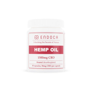 Endoca Hemp Oil Capsules 1500mg