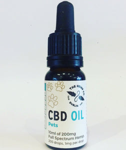 Hemp Company CBD Oil For Pets