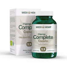 Load image into Gallery viewer, MediHemp Organic Hemp Capsules