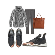 Outfit ideas for grey copper Vobyo sneakers